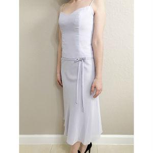 David's Bridal Tea Length Dress Size 2